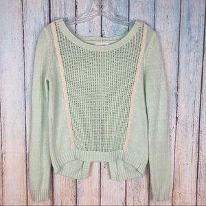 🌻3/$25! Shrinking Violet Open Back Knit Sweater